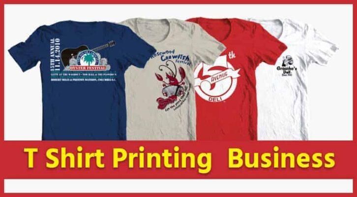 T Shirt Printing ka Business
